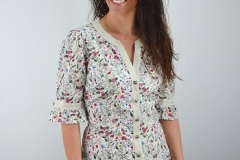 Bluse Blumenmuster