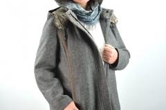 Winterjacke Schal