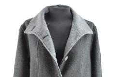 Loden Damen Mantel mit Reverskragen