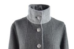Loden Damen Mantel mit Stehkragen