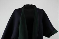 Umhang dunkelblau/dunkelgrün