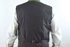 Gilet grün Rücken