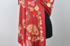Schal Blumen