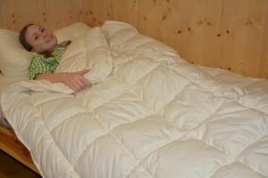 Natur Bettwaren - Einziehdecke