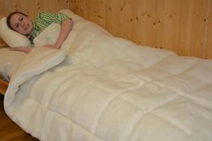 Natur Bettwaren Einziedecke