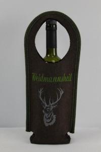 Weintragetasche mit Hirsch-Motiv