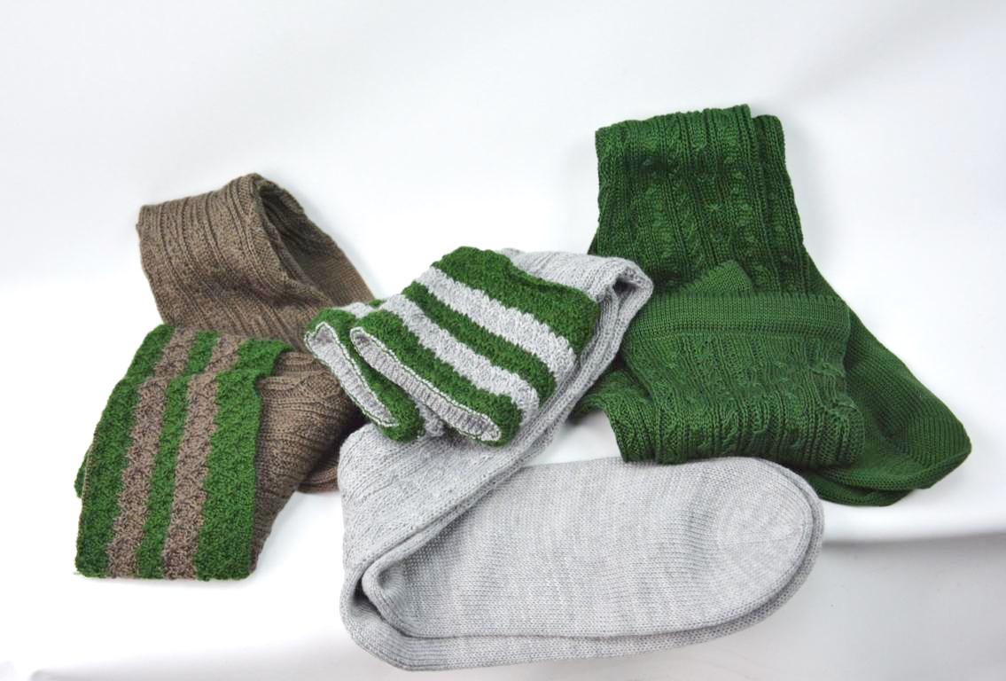 Socken mit handstrick Optik